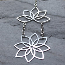 Load image into Gallery viewer, lotus flower sun catcher by audra azoury