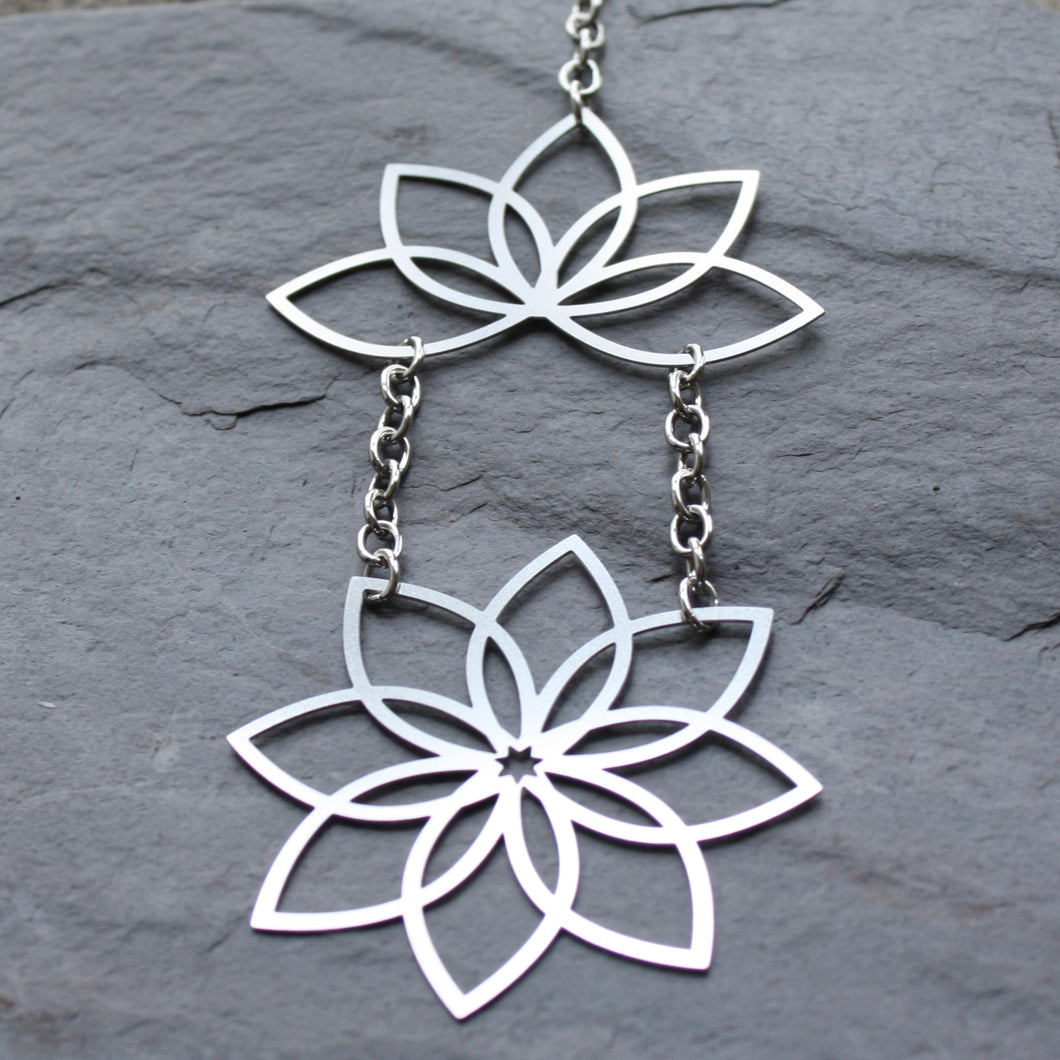 lotus flower sun catcher by audra azoury