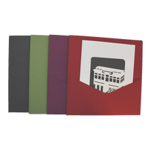 Load image into Gallery viewer, Incline Card + Pocket Envelope | Assorted Colors