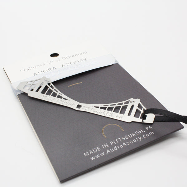 Pittsburgh Bridge Ornament | Rachel Carson  Bridge