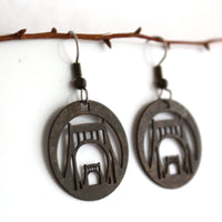 Andy Warhol Bridge earrings by audra azoury