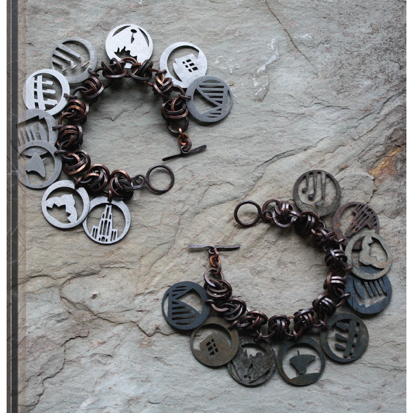 Pittsburgh Charm Bracelet | Steel Town Collection