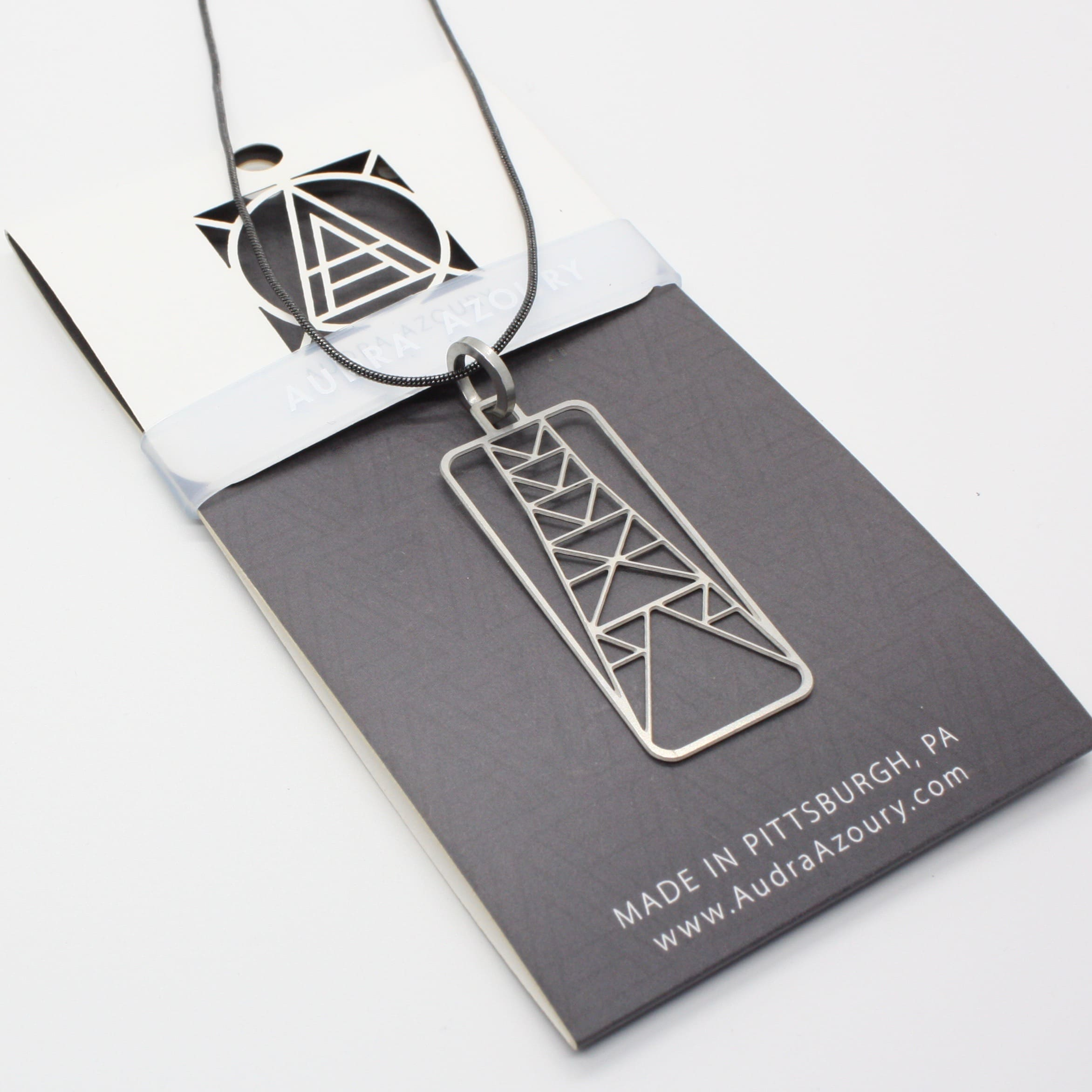 Tri-Tower Necklace
