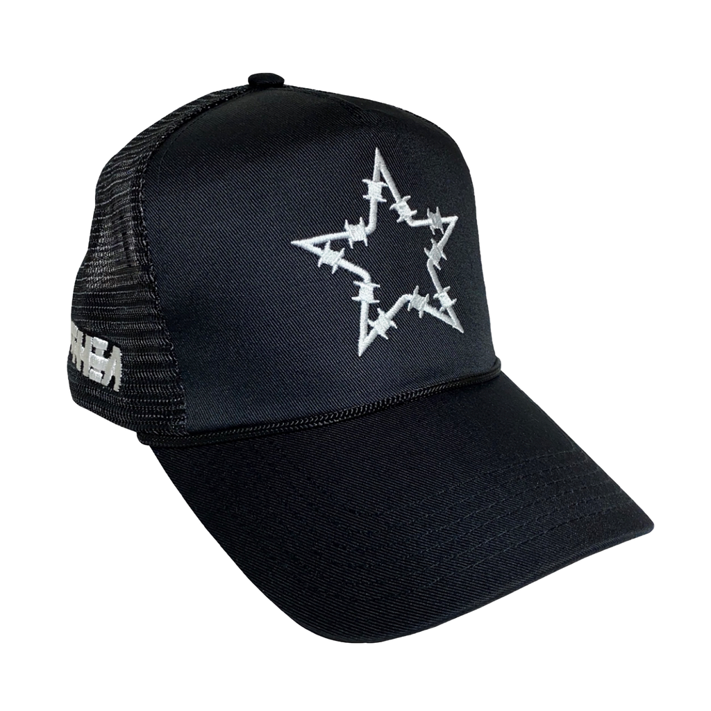 Barbwire Star Trucker Hat