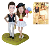 AU Sales-Custom Fully Customizable 2 person Bobbleheads