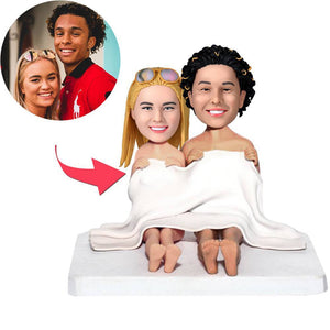 AU Sales-Custom Blanket Couples Bobbleheads
