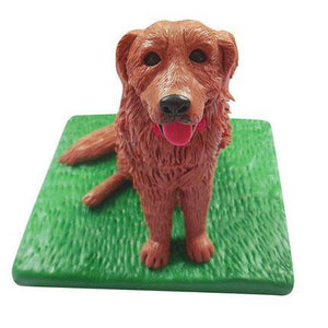AU Sales-Custom Golden retriever Pet Bobbleheads