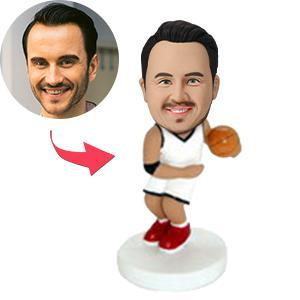 AU Sales-Custom Basketball Dribbler Bobbleheads