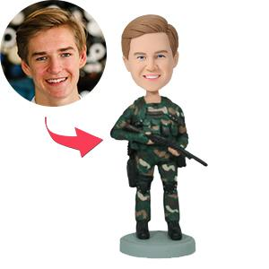 AU Sales-Custom Navy Seal Bobbleheads