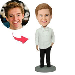 AU Sales-Custom Executive Chef Bobbleheads