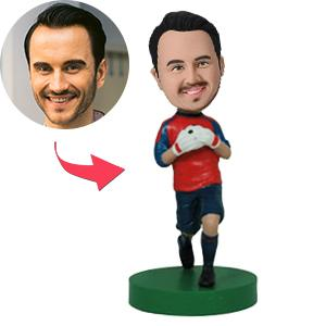 AU Sales-Custom Soccer/football Goalie Bobbleheads