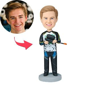 AU Sales-Custom Paintball Player Bobbleheads