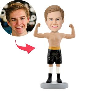AU Sales-Custom Male Boxer Bobbleheads