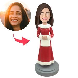 AU Sales-Custom Mrs. Claus Bobbleheads
