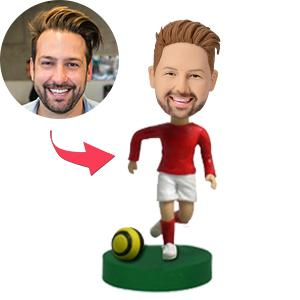 AU Sales-Custom Soccer/football  Player Bobbleheads