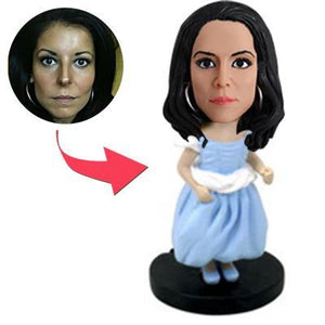 AU Sales-Custom Bridesmaid/flower Girl Bobbleheads