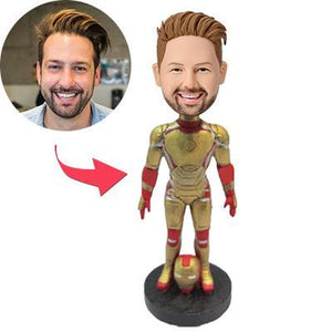 AU Sales-Custom Iron Man Popular Bobbleheads