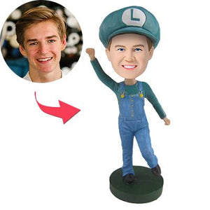 AU Sales-Custom Super Mario Luigi Popular Bobbleheads