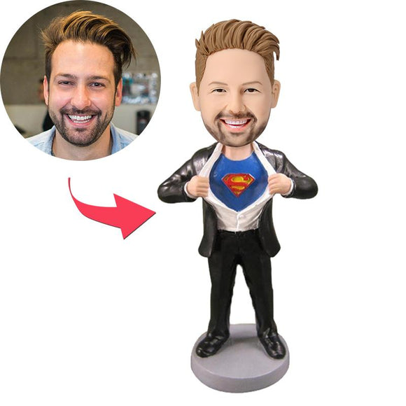 AU Sales-Custom Superman Strip Bobbleheads