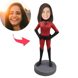 AU Sales-Custom Incredibles Woman Popular Bobbleheads With Engraved Text