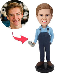 AU Sales-Custom Salary Bobbleheads