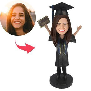 AU Sales-Custom I graduated Bobbleheads