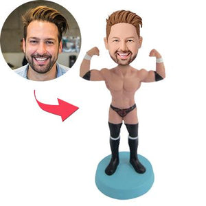 AU Sales-Custom Male stripper Bobbleheads