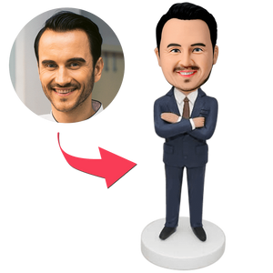 AU Sales-Custom Businessman Bobbleheads