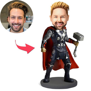 AU Sales-Custom The Mighty Thor Popular Bobbleheads With Engraved Text