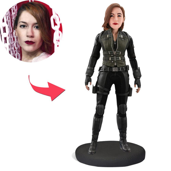AU Sales-Custom Black Widow Bobbleheads