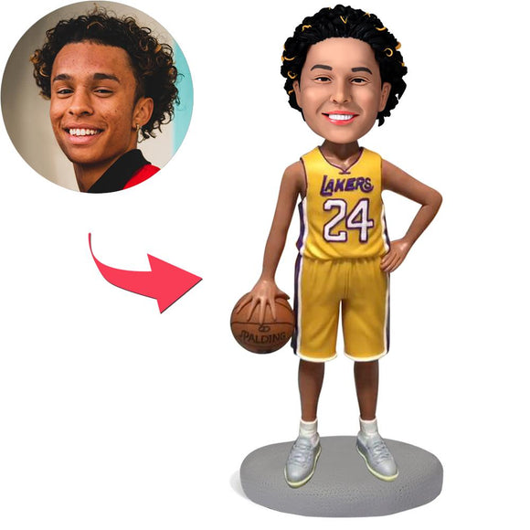 AU Sales-Custom Lakers Basketball Player Kobe Bryant Bobbleheads