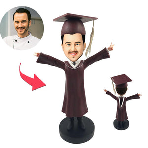 AU Sales-Custom Graduation F Bobbleheads