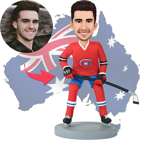 AU Sales-Custom Montreal Canadians Hockey Bobbleheads
