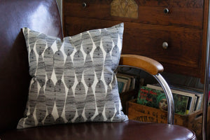 Vaughn Street Pillow in Black