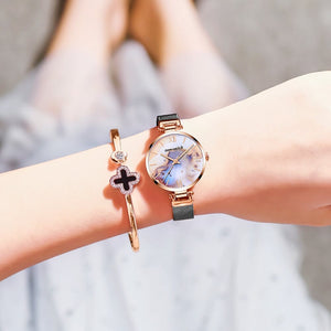 Agate Texture Style Women Watch,for Lady Gift No.1286