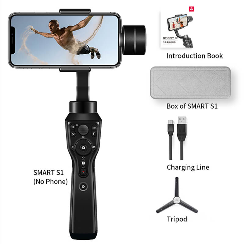 Handheld 3 Axis Gimbal Phone Stabilizer SⅠ