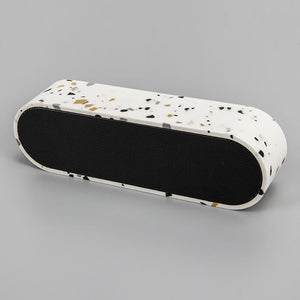 Unique Bluetooth Speaker with Terrazzo Shell