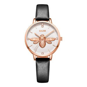 For Lady's Gift,3D Bee Quartz Watch No.1265