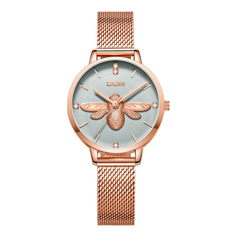 3D bee shapewomen watch No.1265