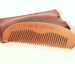 Gift Pack - Beard Oil/Cologne and Wooden Beard Comb by Dr Sleek Lab