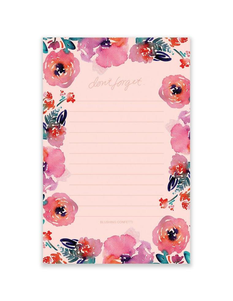 Candy Florals Market Pad