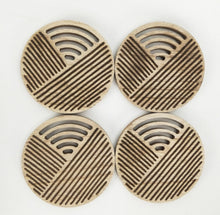 Load image into Gallery viewer, Kiana Coasters - Natural - Set of 4