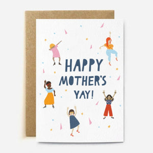 Happy Mother's Yay - Card