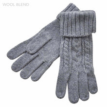 Load image into Gallery viewer, Braid Knitted Gloves & Open Finger Gloves