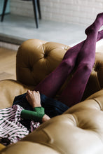 Load image into Gallery viewer, Harlequin Cotton Tights