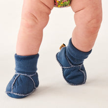 Load image into Gallery viewer, Leather Baby Booties