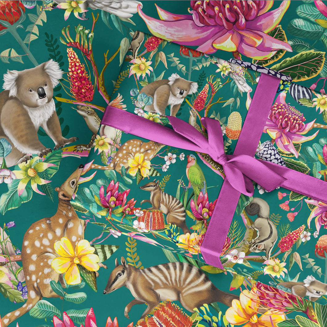 Wrapping Paper Exotic Paradiso