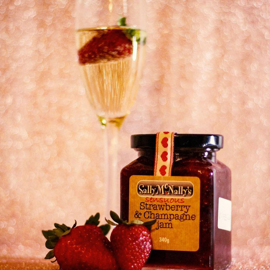 Strawberry & Champagne Jam 340g