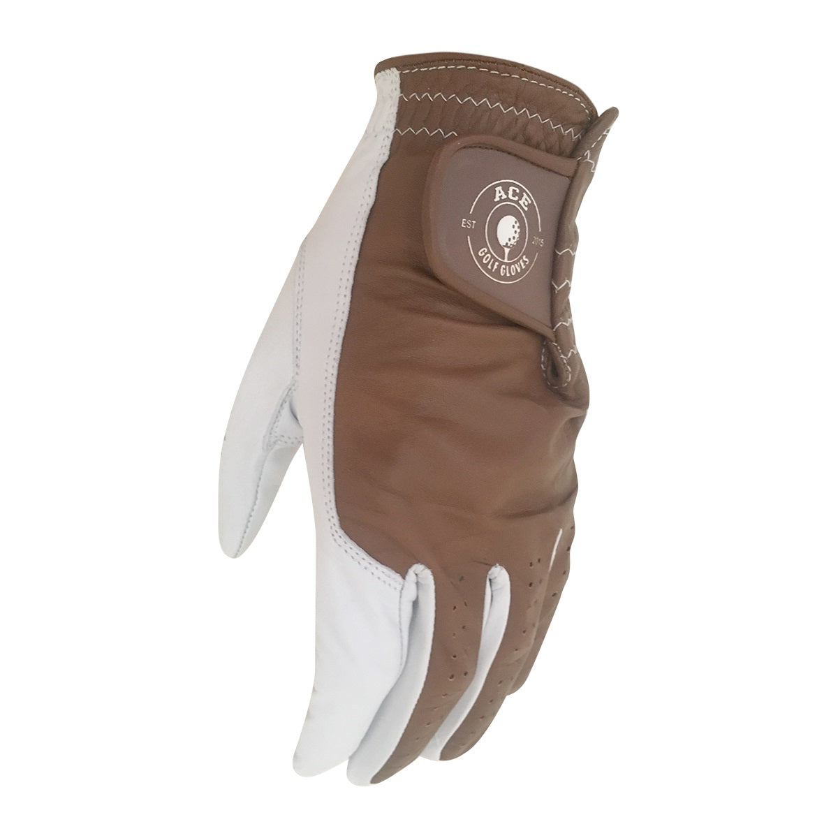 Players Leather Glove Brown
