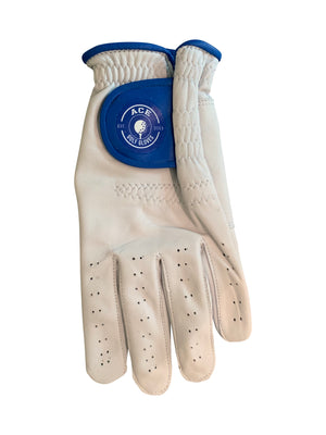 Players Leather Glove Hazard Blue